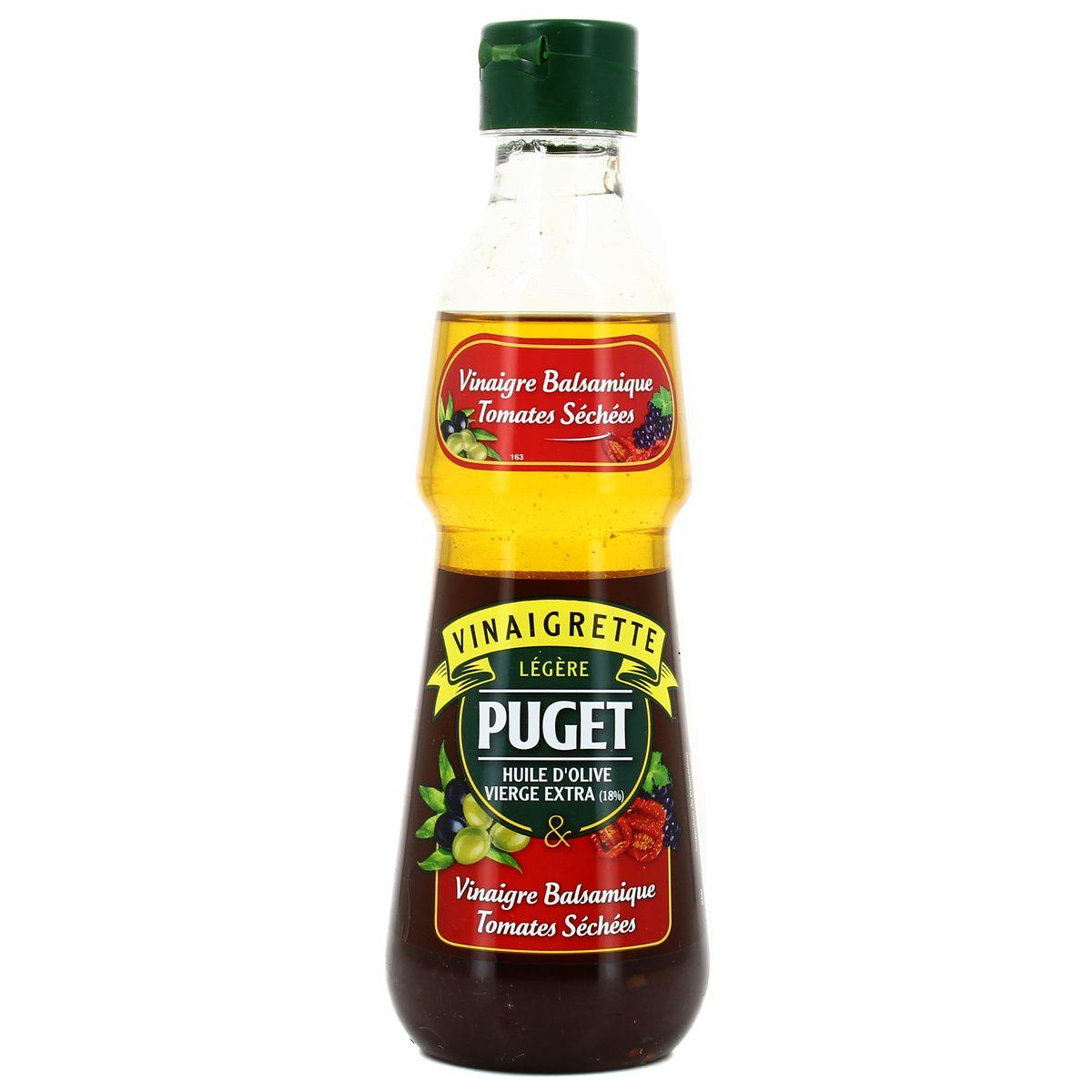 Puget Vinaigrette à L Huile D Olive Et Vinaigre Balsamique Tomates Séchées 33cl