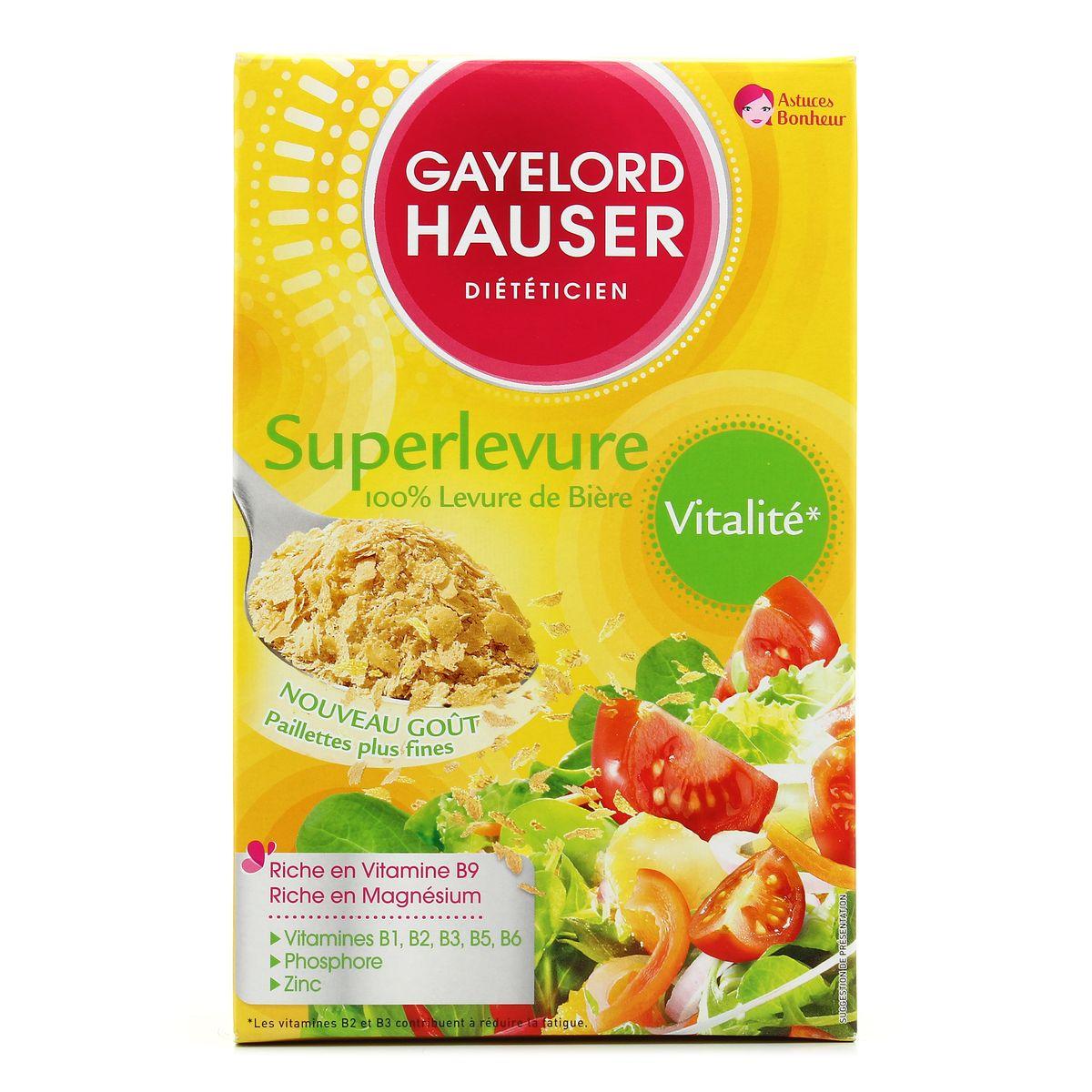 Achat / Vente Gayelord Hauser Superlevure 100% levure de ...