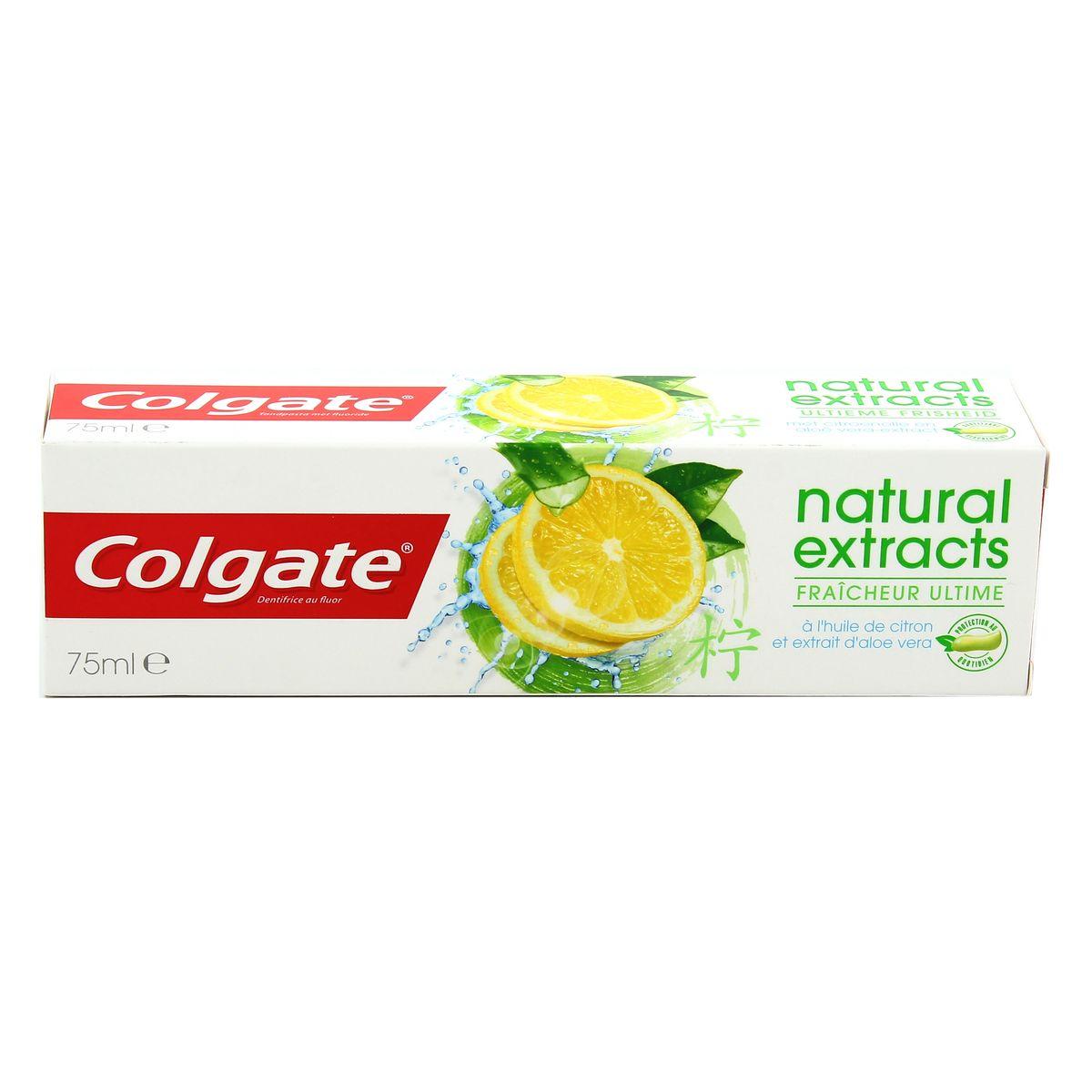 dentifrice au citron