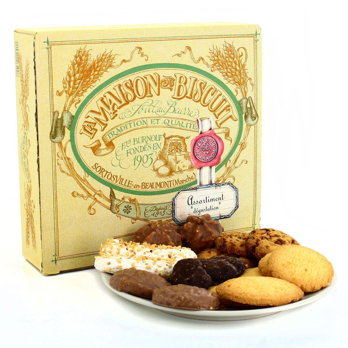 Livraison à domicile La Maison Du Biscuit Assortiment dégustation, 10g