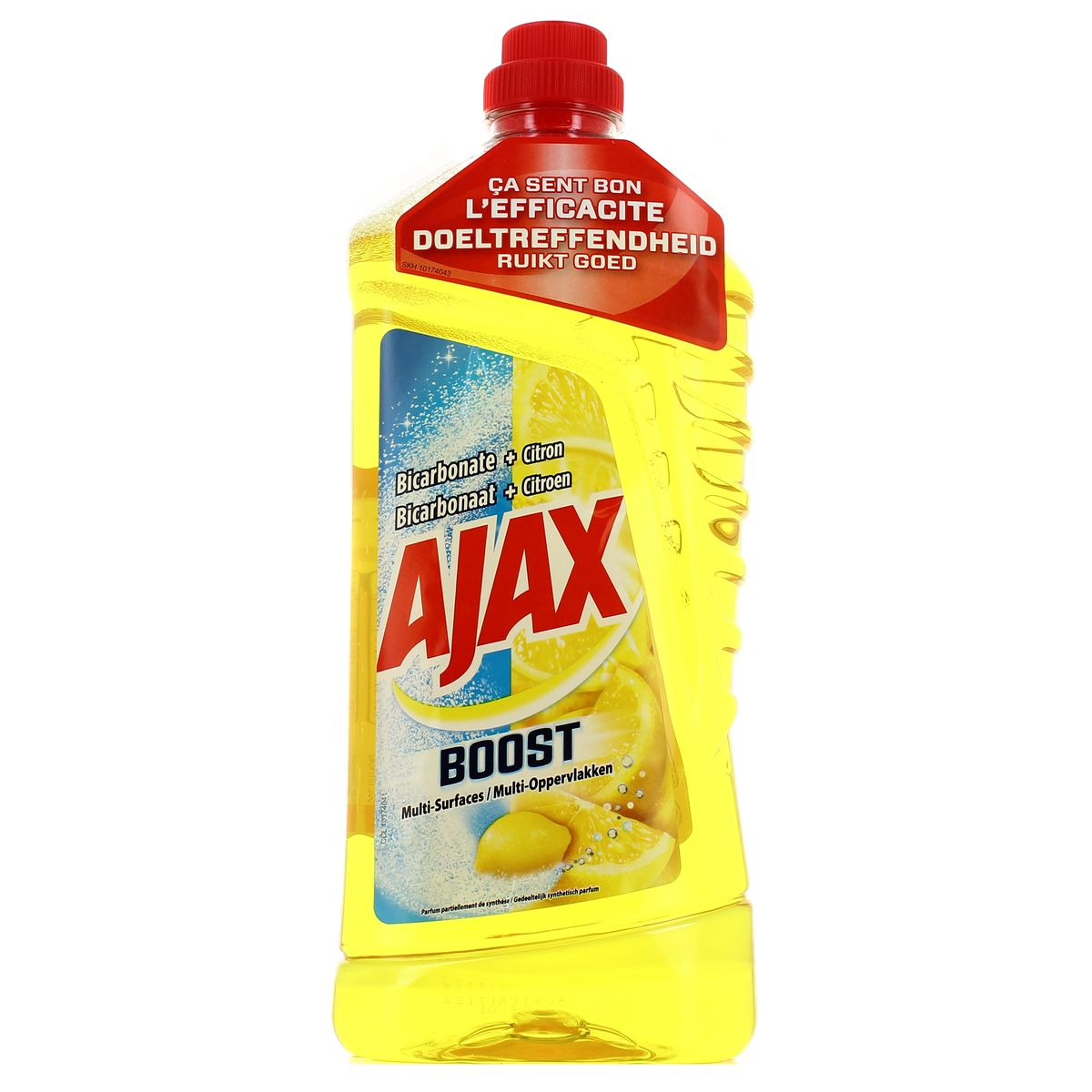 Ajax Nettoyant Multi Surfaces Bicarbonate Et Citron 1 25l Houra Fr