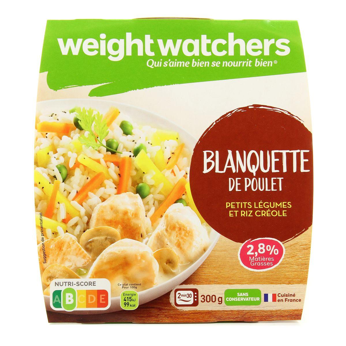 Livraison A Domicile Weight Watchers Blanquette De Poulet 300g