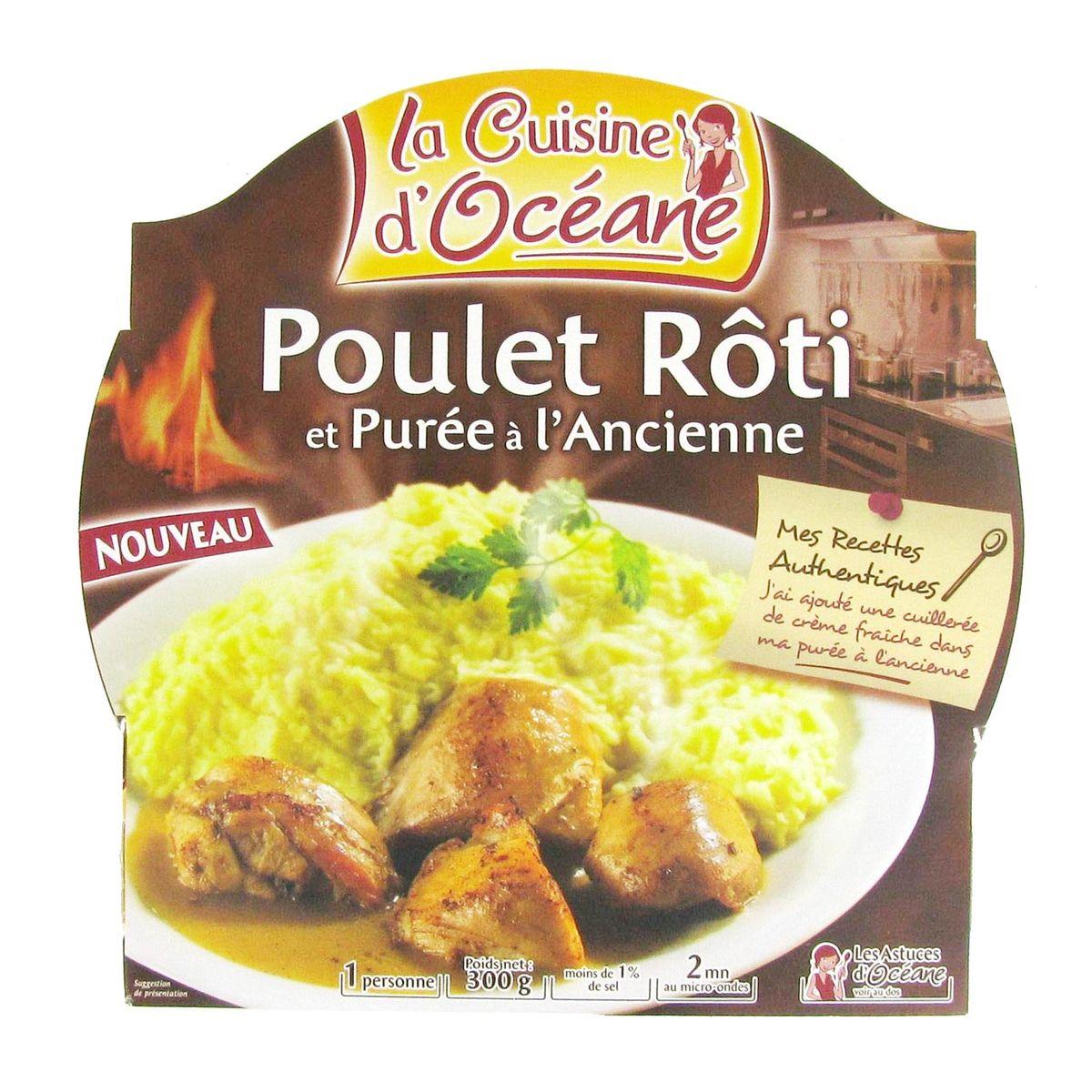 Acheter La Cuisine D Oceane Poulet Roti Et Puree A L Ancienne 300g