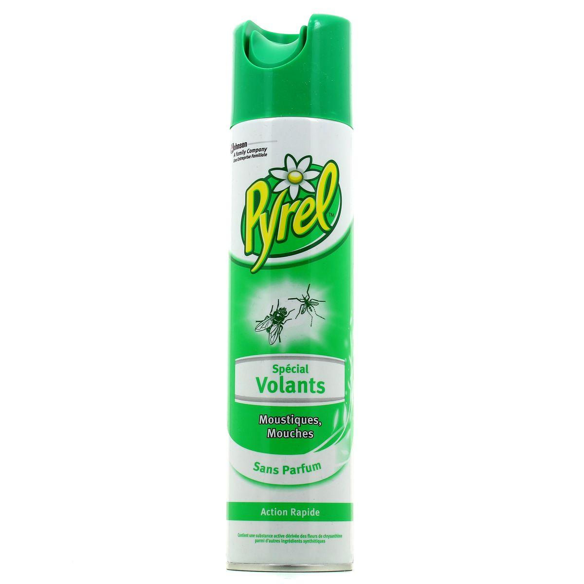 Insecte Salle De Bain Volant ~ pyrel insecticide sp cial volants mouches et moustiques 400ml