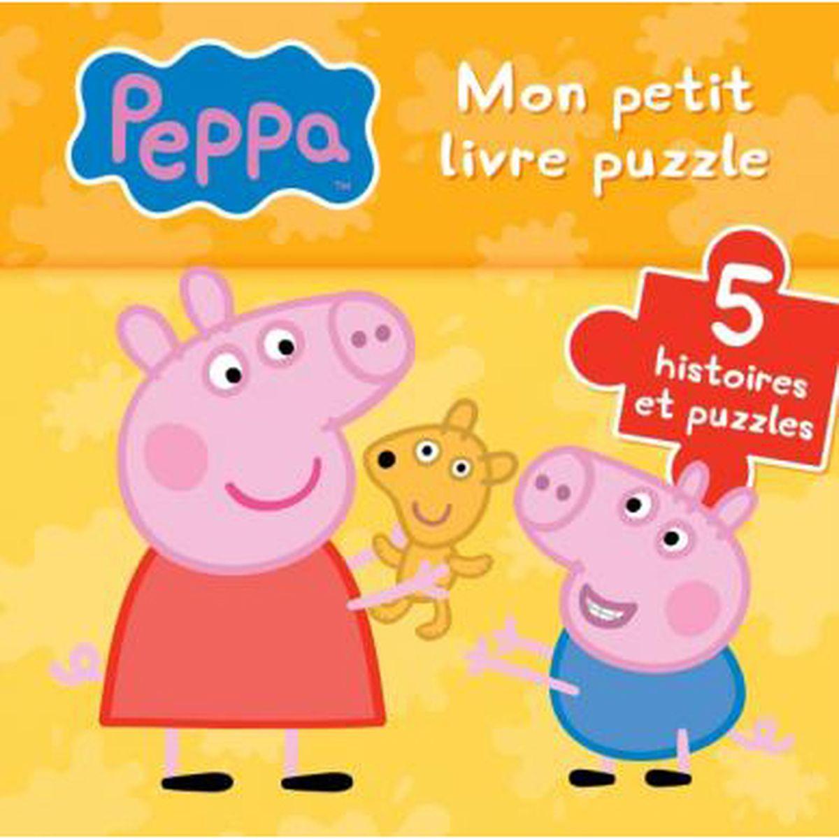 Peppa Pig Mon petit livre puzzle 5 histoires et puzzles
