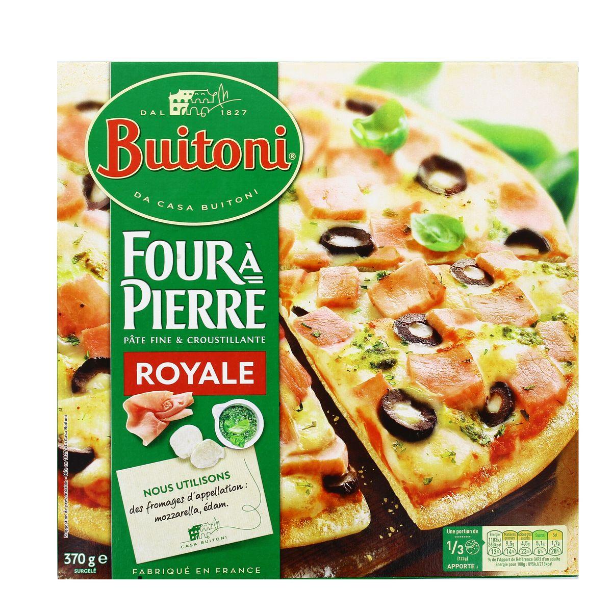 Croquette De Jambon Au Four achat buitoni four à pierre pizza royale jambon fromage olives basilic