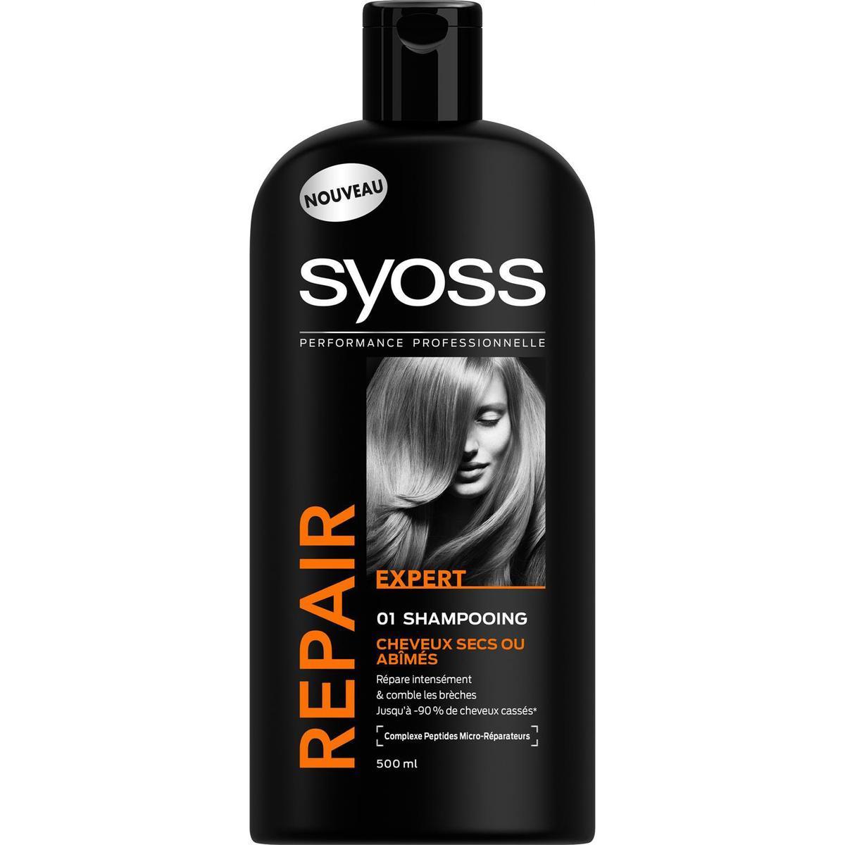 shampooing pour cheveux secs abimes