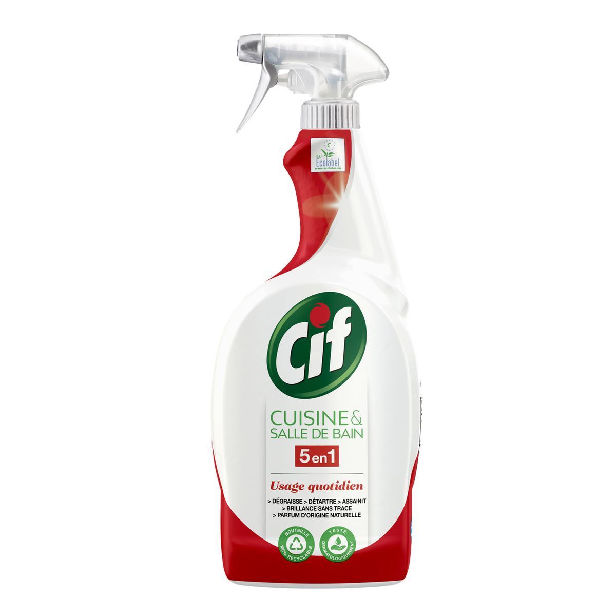 Acheter Promotion Cif Spray nettoyant Cuisine et Salle de bain, 20ml