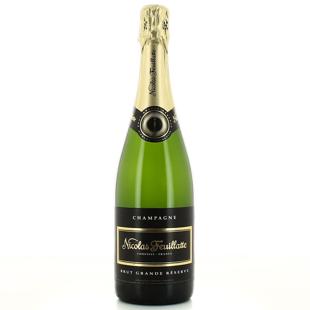 champagne nicolas feuillatte grande reserve