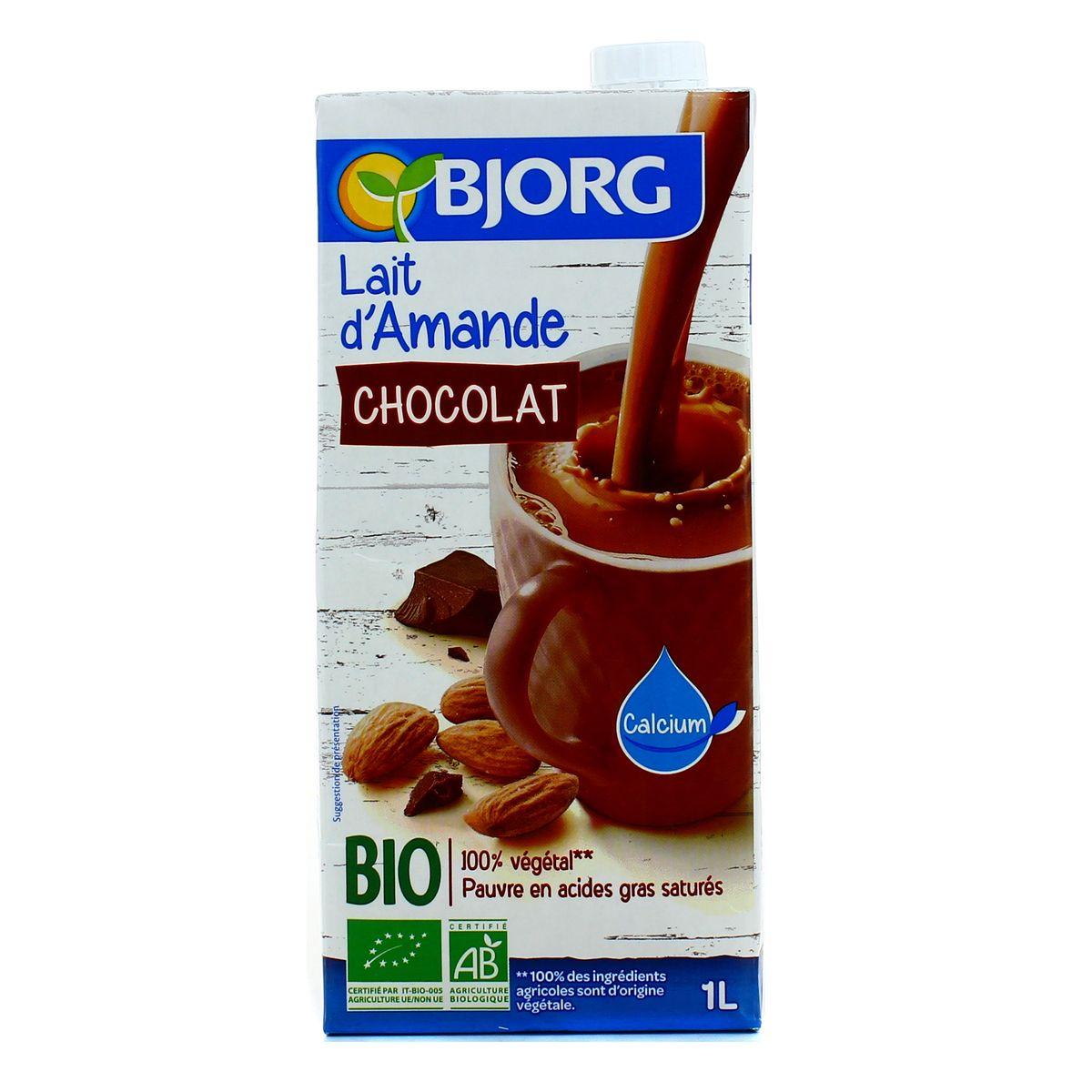 Bjorg Lait D Amande Chocolat Bio 1l Houra Fr