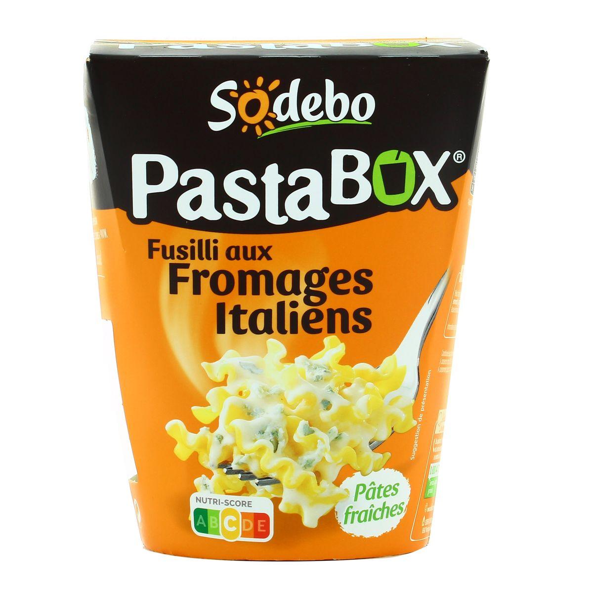 Livraison à domicile Pasta Box Fusilli aux Fromages italiens, 10g