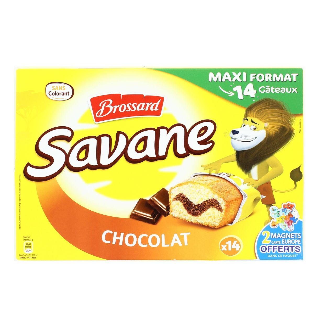 Livraison à domicile Promotion Savane Pocket chocolat, 10 gateaux