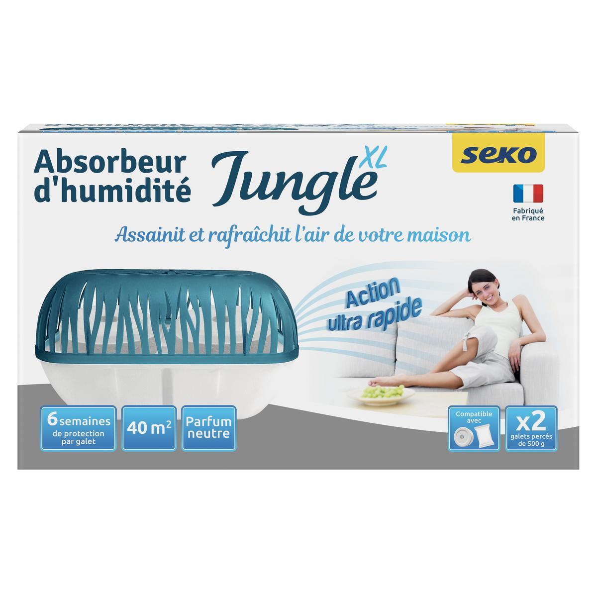 Absorbeur D Humidité Avis livraison à domicile seko absorbeur d'humidité jungle xl + 2 recharges