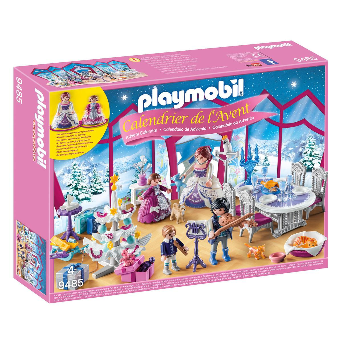 Playmobil Calendrier.Playmobil Christmas Calendrier De L Avent Bal De Noel Salon De Cristal 9485