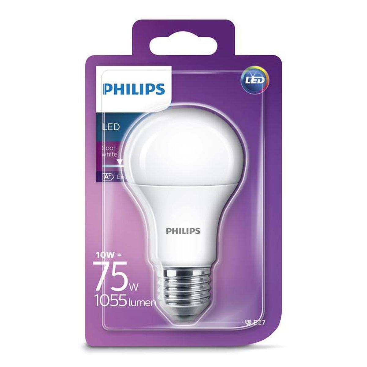 W E2711 Ampoule Led Dépolie Standard Philips wZOkXliTPu
