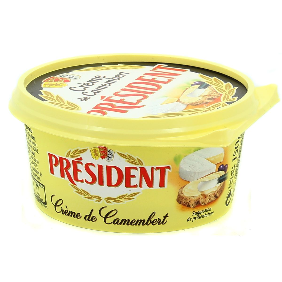 Image result for creme de camembert president
