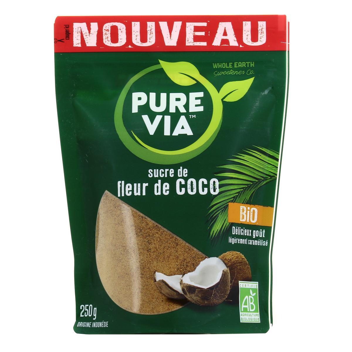 Pure Via Sucre Fleur De Coco Bio 250g Houra Fr