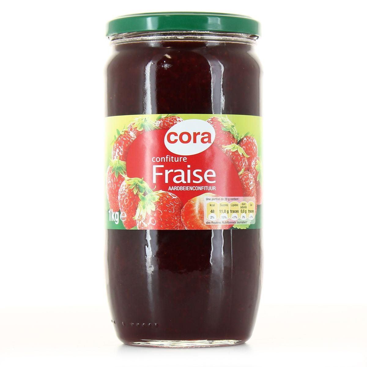 confiture de fraise 1 kg