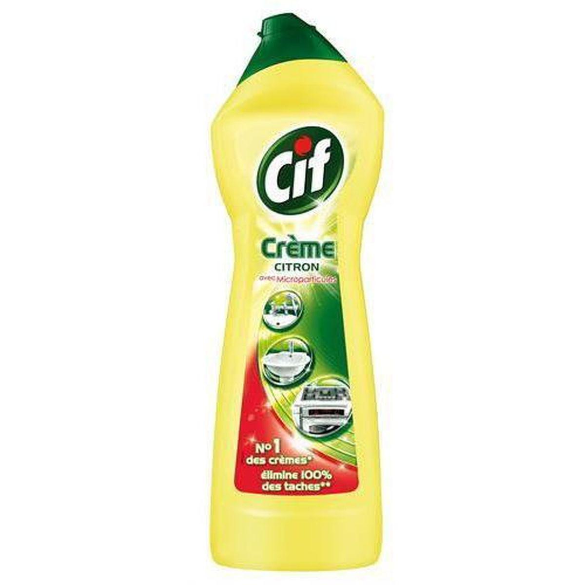 Livraison à domicile Cif Crème à récurer citron, 15ml