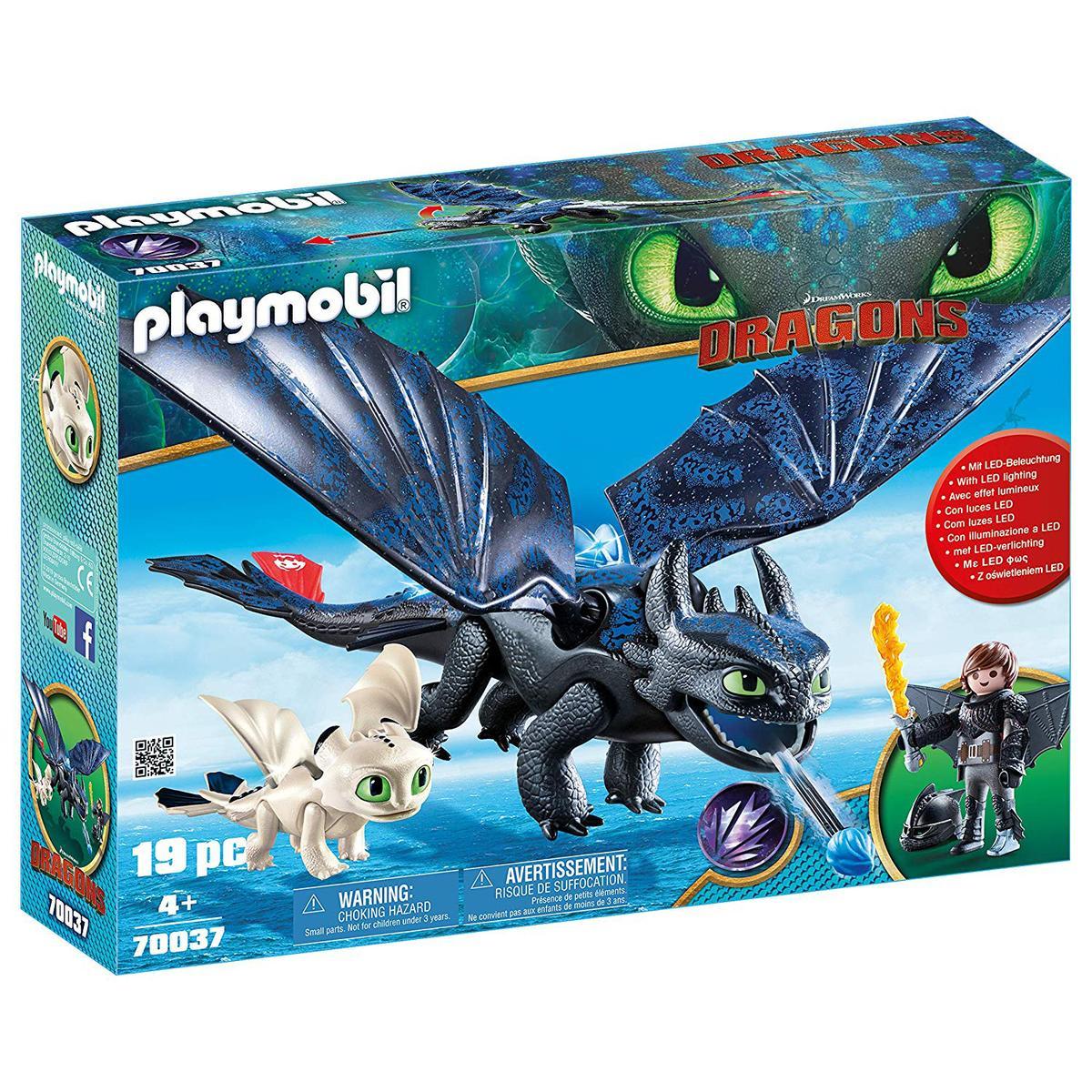 Playmobil® Harold Dragons Bébé Dragon70037 Et Avec Krokmou SzGMVqUp