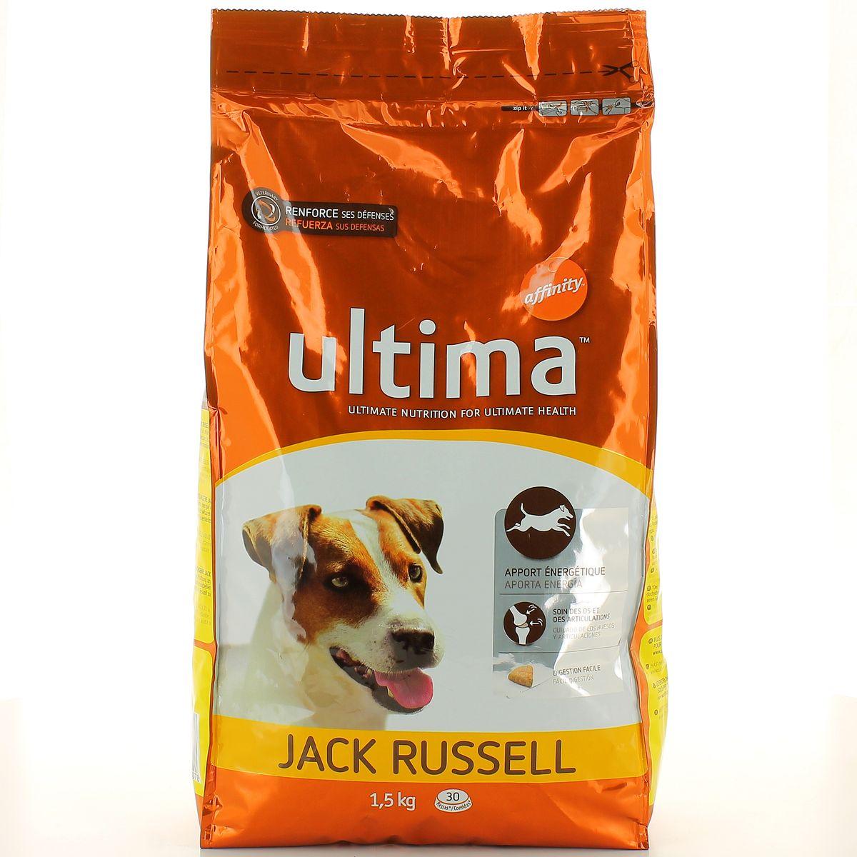 Ultima Affinity Croquette Pour Chien Spéciale Mini Jack Russell 15kg