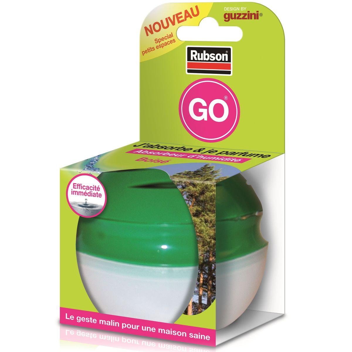 Absorbeur D Humidité Avis livraison à domicile rubson absorbeur d'humidité go boisé, 4 m2