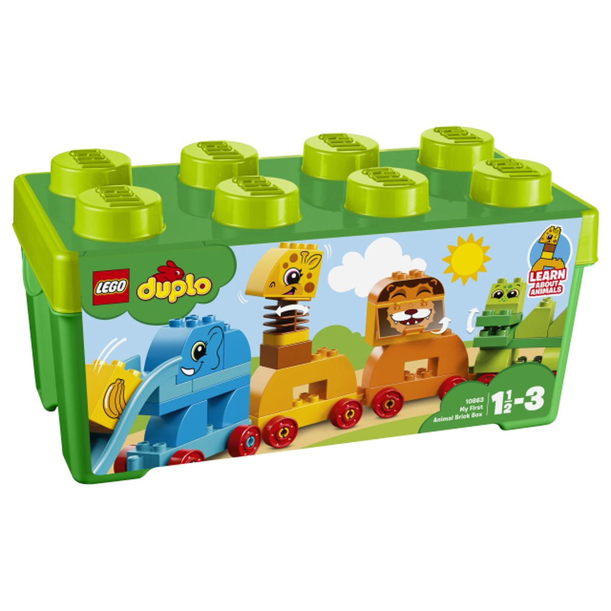 Calendrier Avent Duplo.Lego Duplo 10863 Mon Premier Train Des Animaux