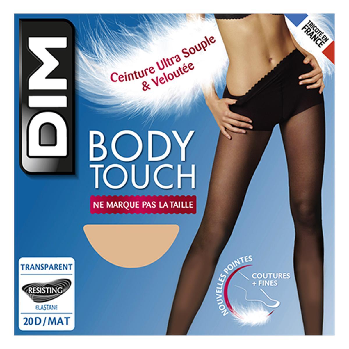 pas cher nouvelle arrivee expédition de baisse Dim Collant Body Touch transparent Peau Dorée 20D, Taille 3