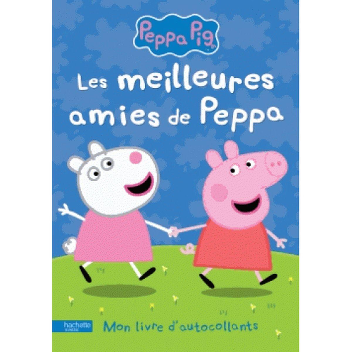 Peppa Pig Mon livre d autocollant Les meilleures amies de Peppa