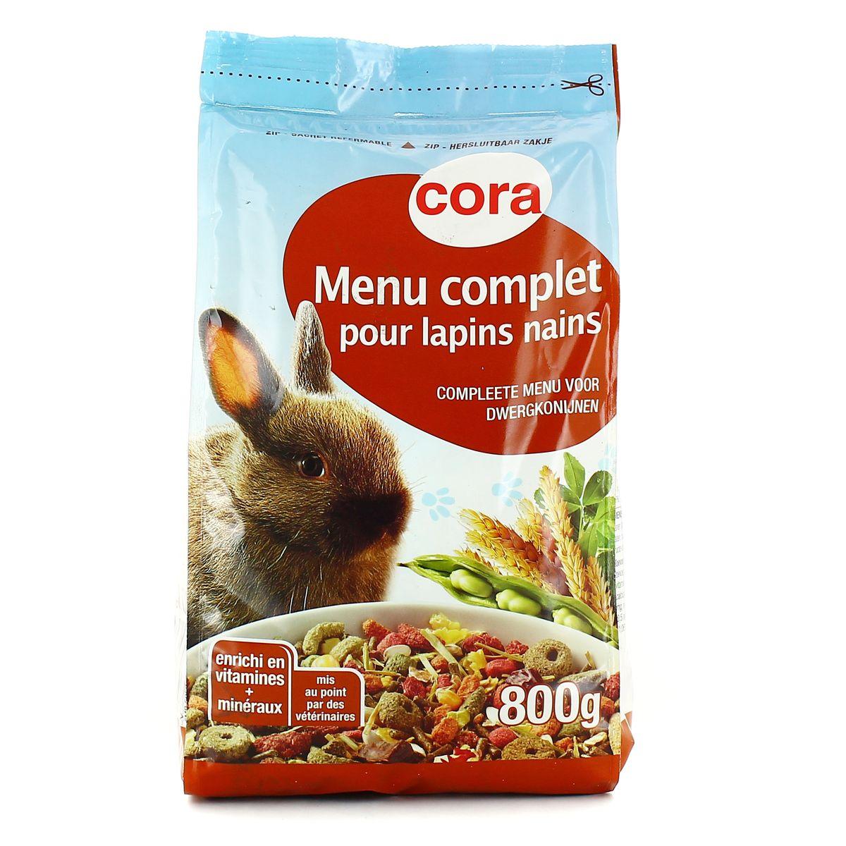 Cora Menu De Noel.Cora Menu Complet Pour Lapins Nains 800g