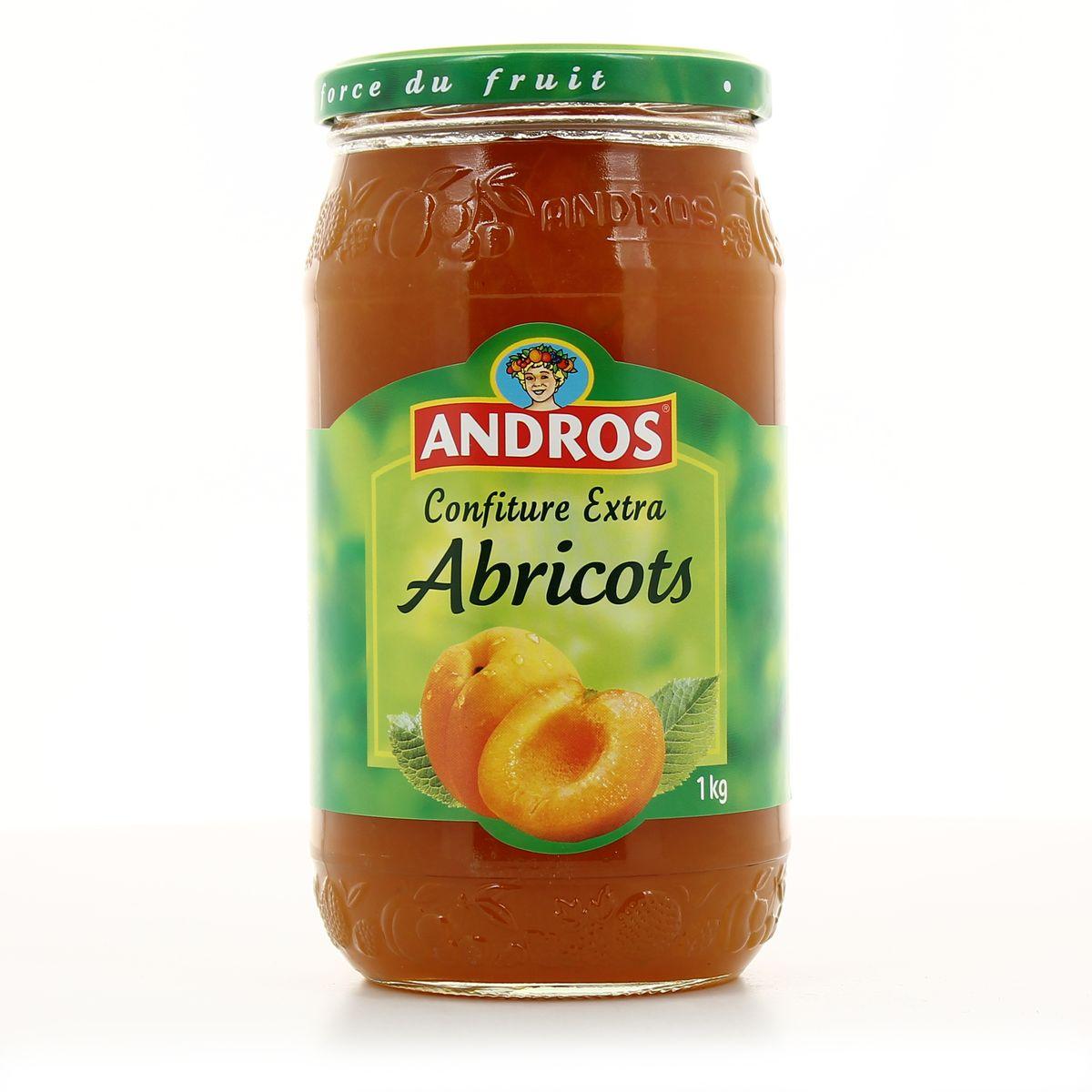 confiture abricot pour 1 kg