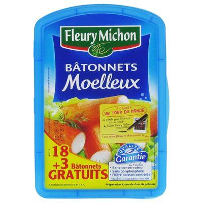 Fleury Michon batonnet de surimi x18 378g