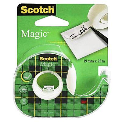 Scotch Dévidoir avec ruban adhésif invisible