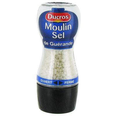 Ducros moulin sel de Guerande 60g
