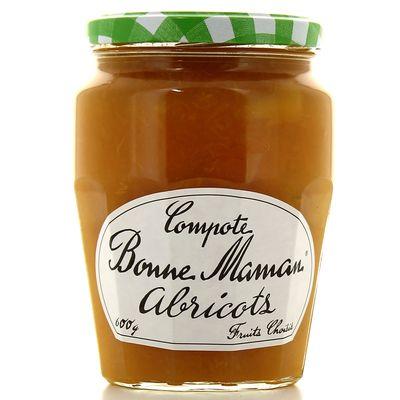 Compote d'abricots BONNE MAMAN, 600g