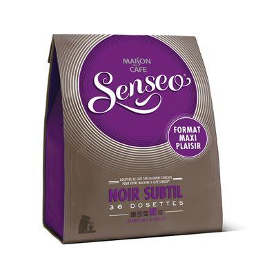 Dosettes Maison du Cafe Senseo Noir subtil x36 250g