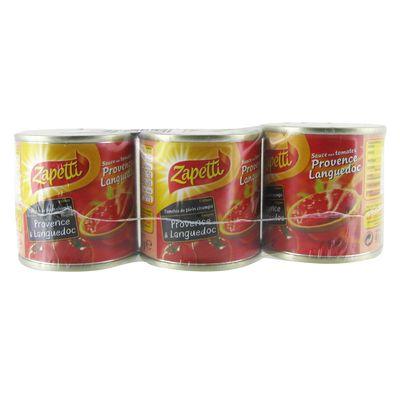 Zapetti buitoni Sauce tomate 3x95g