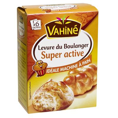 Levure super active Vahine Special pain sachet x6 27.6g