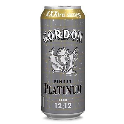 BIERE GORDON PLATINUM 12% 50CL