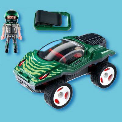 Playmobil - Nouveautés 2013 - Voiture camouflage à transporter - 5160