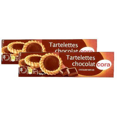 Cora Tartelettes au chocolat