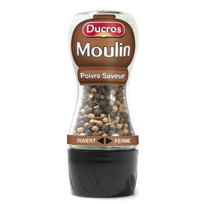 Ducros le moulin au poivre saveur 30g