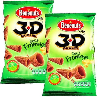 Benenuts 3 D'S Fromage