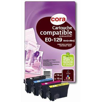 cartouches eo129 compatibles epson quivalent pomme cora shoptimise. Black Bedroom Furniture Sets. Home Design Ideas