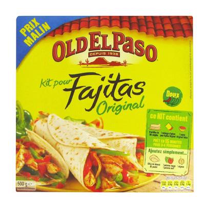 Kit preparation Old El Paso Fajitas 500g