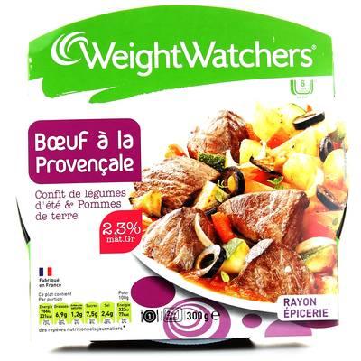 Boeuf provencal, confit de legumes d'ete et pommes de terre WEIGHT WATCHERS, 300g