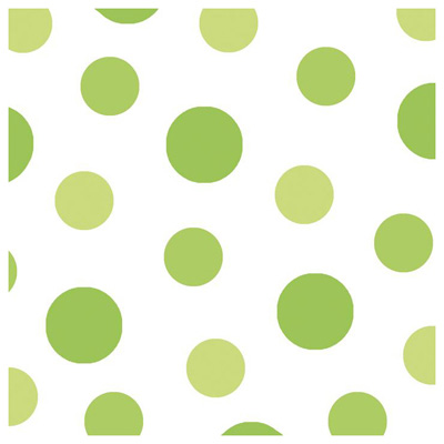 Serviettes papier spot lime,Paperproducts Design,