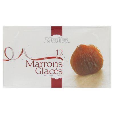 Marrons glaces MOTTA, 12 unites, 240g