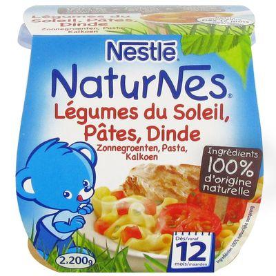 Pâtes, Tomates, Dinde - Bols dès 12 mois