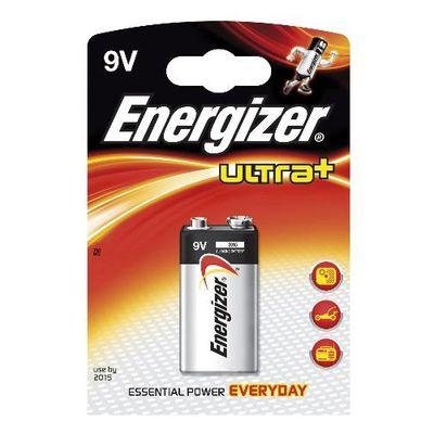 Pile alcaline 6LR61 9V Ultra + ENERGIZER